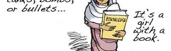 Një vajzë me libër