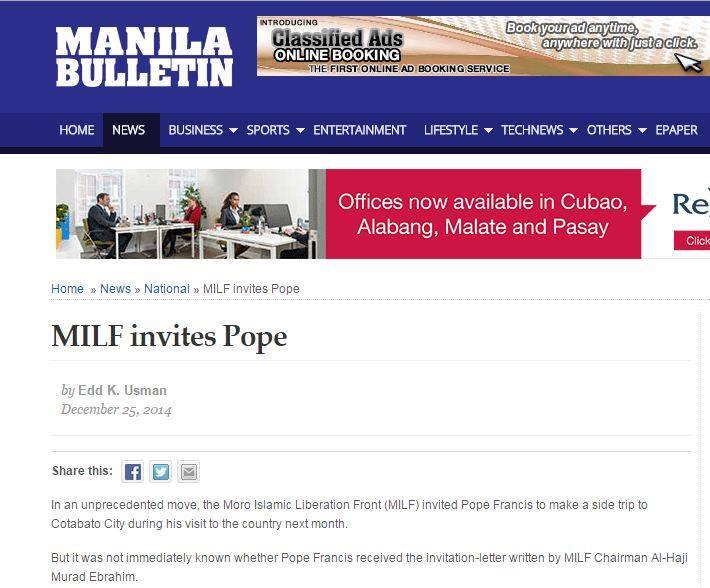 MILF POPE