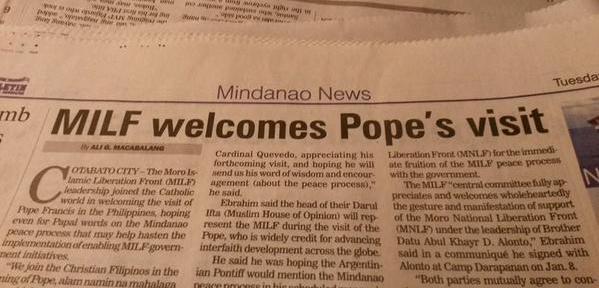 milf pope manila